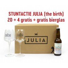 ACTIE: JULIA THE BIRTH BOX + GLAS: 39,95 euro!
