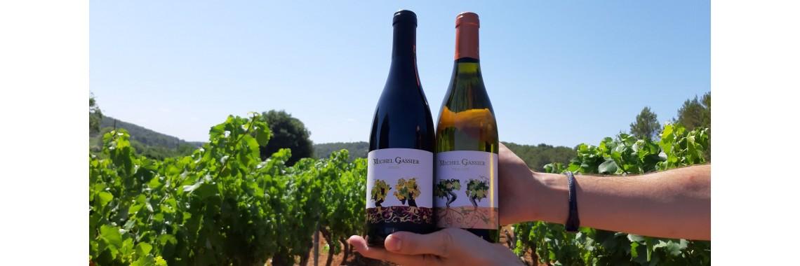 Klinken op de wijnranken